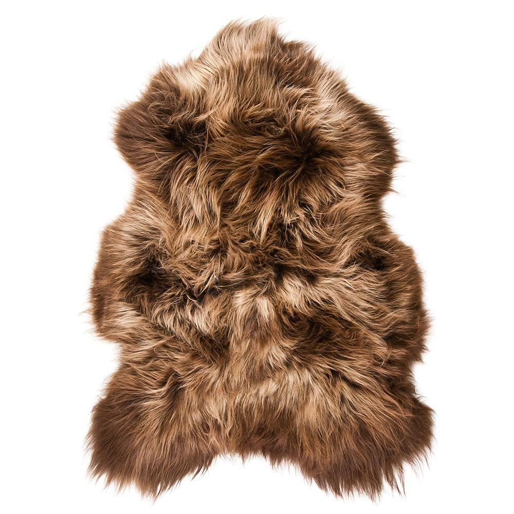 Fur Sheep Iceland Rust 100-110cm (ovis Aries) leather/fur - LifeDeals